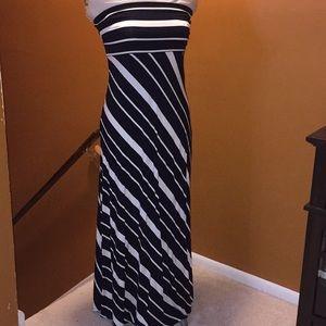 NWT Banana Republic strapless maxi dress